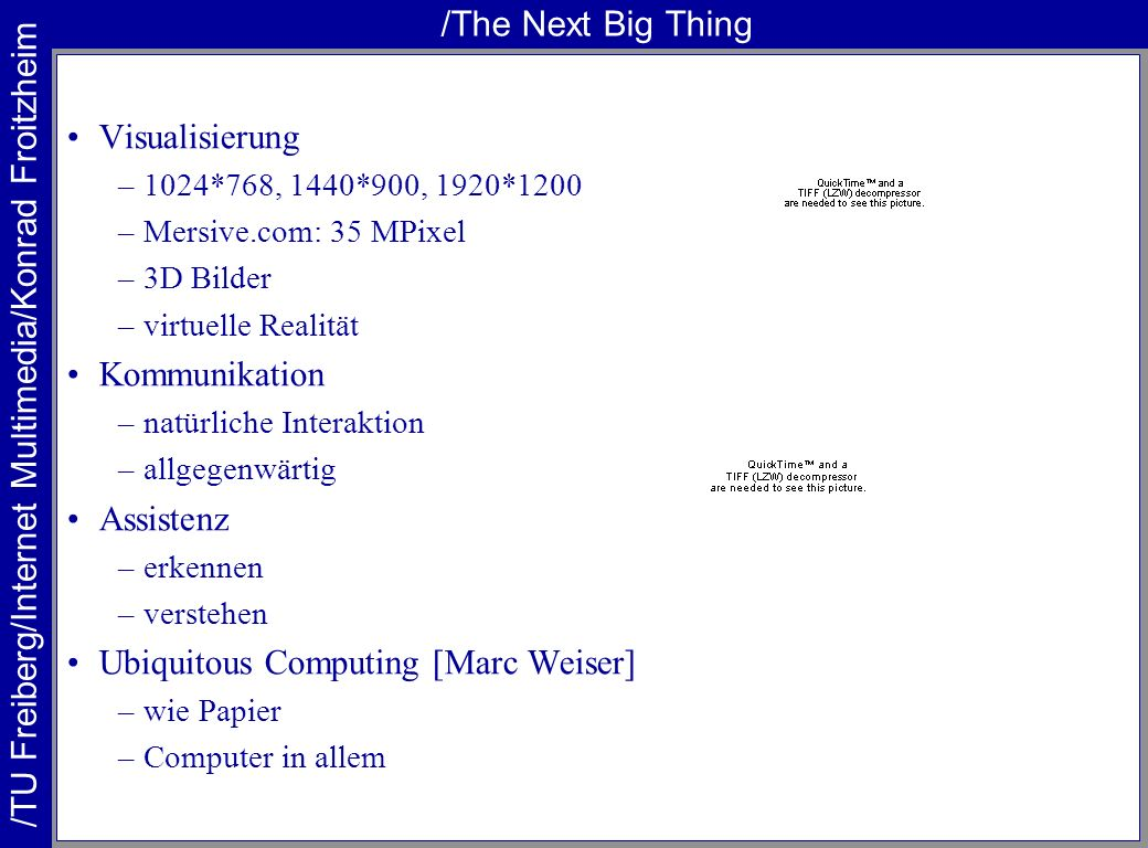 Ubiquitous Computing [Marc Weiser]